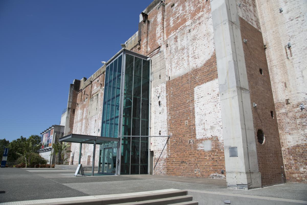 This is an image of the Northern elevation of New Farm Powerhouse