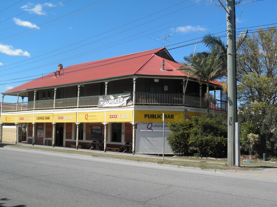 This is an image of the Heritage Place known as Queensport Hotel located on 49 Gosport Street in Hemmant in 2014