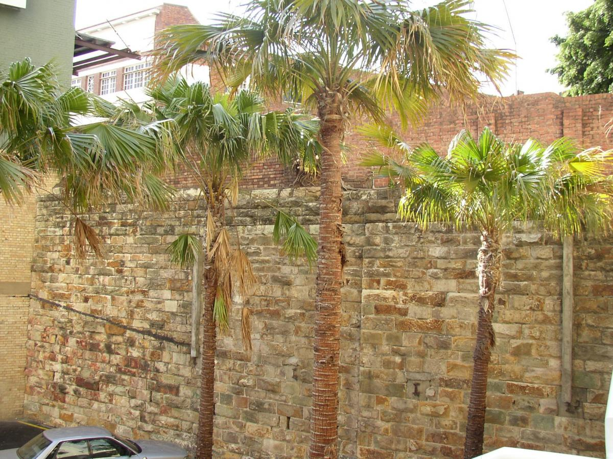 Porphyry Retaining Wall   Heritage Places